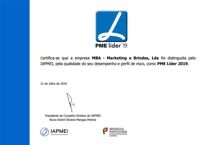 PME LIDER 2019 - NOBRINDE